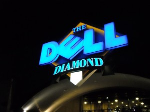 Dell Diamond Photo R. Anderson