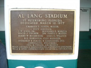 Al Lang Stadium Photo R. Anderson