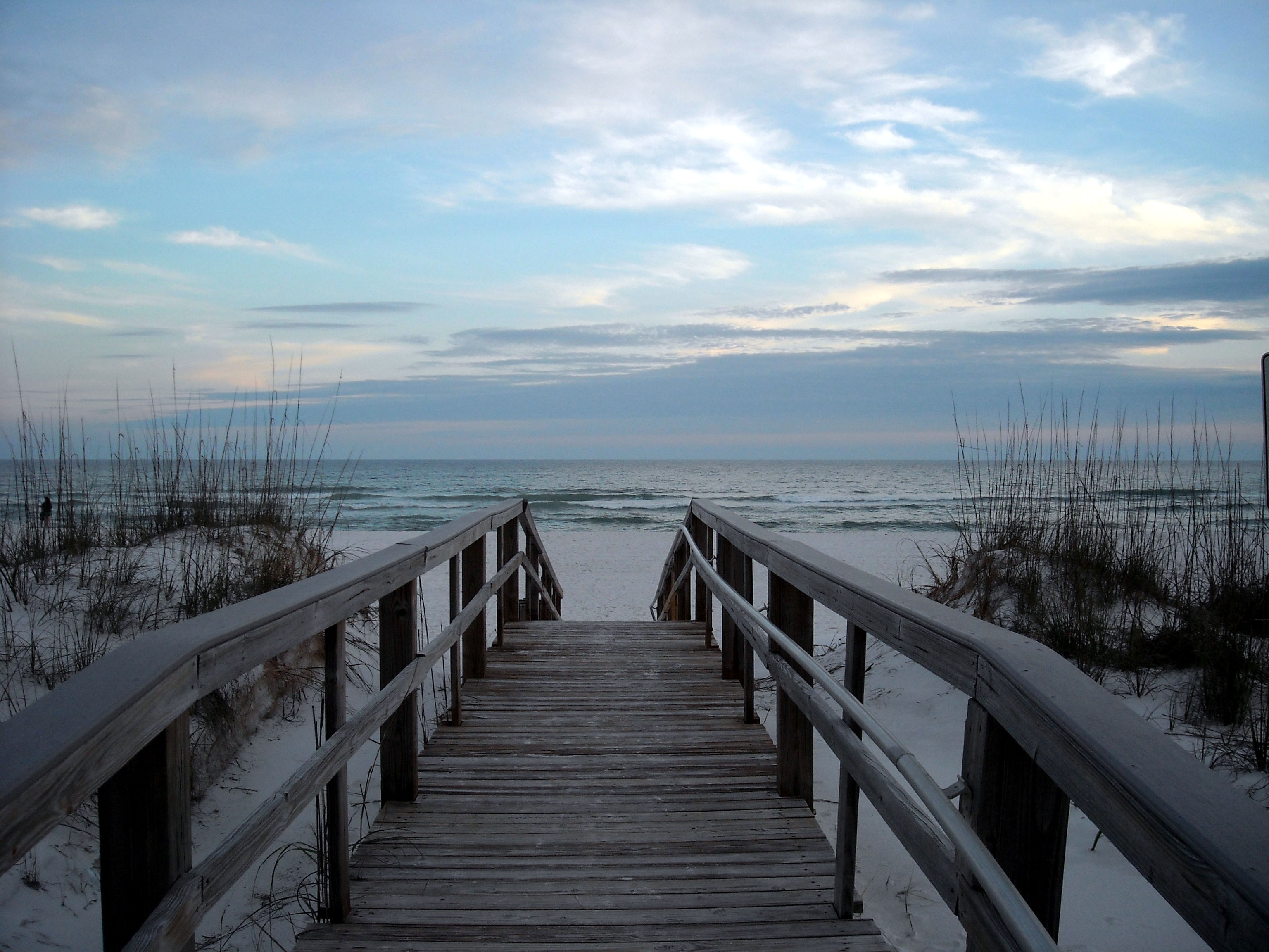 The View Walking Onto Pensacola Beach Was Ranked 22nd In 2017 Trip