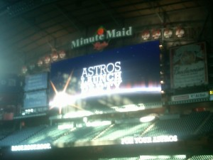 The Astros will have a new league, new uniforms and the same committment to fielding the cheapest team they can when the 2013 season starts.  Photo R. Anderson