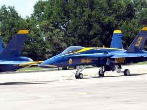 The Blue Angels will be staying grounded at Pensacola Navel Air Station for the remainder of the year. Photo R. Anderson