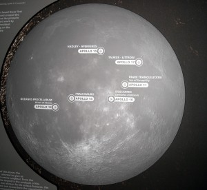The Moon Landing locations. Photo R. Anderson