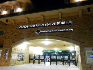 Constellation Field in Sugar Land, TX is the home ballpark of the Sugar Land Skeeters. Photo R. Anderson