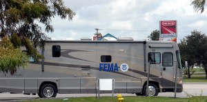 FEMA command centers like this one will soon be a sight all over Oklahoma. Photo R. Anderson