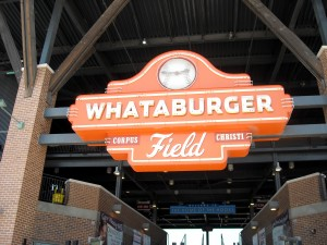 Whataburger Field in Corpus Christi is one of two Minor League teams run by incoming Astros president Reid Ryan. Photo R. Anderson