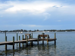 The dock where I learned the finer points of filleting a fish. Photo R. Anderson.