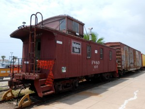 It seems fitting to have a picture of a caboose at the end of a column about trains since they once marked the end of the train. Photo R. Anderson