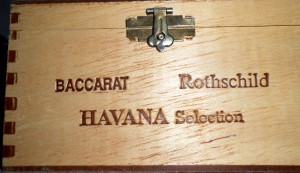 "While I am not a smoker I do collect cigar boxes and ones marked ""Havana"" always seem to be a bit more special. Photo R. Anderson"