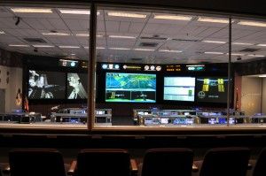 Mission Control at the Johnson Space Center is one of the many government facilities being impacted by the partial government shutdown. Photo R. Anderson