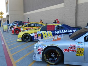 The annual parade of show cars hit the Walmart outside of Texas Motor Speedway over the weekend. Photo R. Anderson