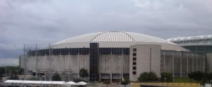 Soon the skyline around Reliant Park may be missing one large Astrodome sized piece. Photo R. Anderson