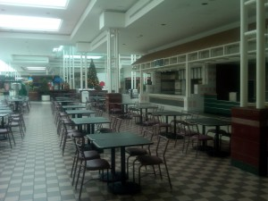 Food is no longer served at the food court of the Mall of the Mainland. Photo R. Anderson
