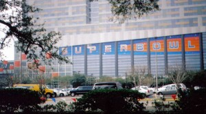 Ten years ago this week Houston was decked out for the Super Bowl. Photo R. Anderson