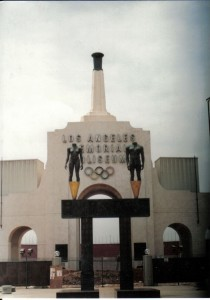 The Los Angeles Coliseum has played host to several Summer Olympic games. Time will tell if the venues in Sochi, Russia age as well. Photo R. Anderson