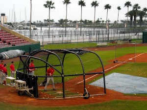 Team Canada has been a frequent visitor to Al Lang Stadium in recent years and is keeping the tradition of baseball alive. Photo R. Anderson