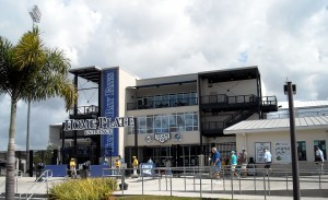 The readers of USA Today recently crowned Charlotte Sports Park, Spring Training home of the Tampa Ray Rays, as the best place to watch Spring Training. Photo R. Anderson