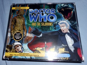 While not as exciting as the Tom Baker version I was able to take care of some commute withdrawal symptoms with another classic Doctor Who story. Photo R. Anderson