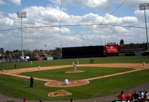 Ed Smith Stadium, or Birdland South as it is called by some Oriole fans, had a strong show of support from the readers in the poll. Photo R. Anderson