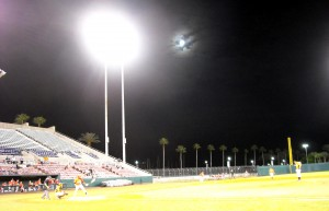Every night is a good night at the Ballpark and for 100 years Spring Training has been a fixture of the Florida night life. Photo R. Anderson