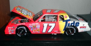 When Darrell Waltrip's car looked like this he won the Daytona 500. Photo R. Anderson