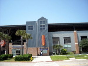 The Corpus Christi Hooks have called Whataburger Field home for all of their 10 seasons of play as a Minor League affiliate of the Houston Astros. Photo R. Anderson
