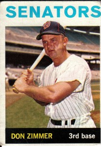 Don Zimmer spent 66 years in professional baseball as a player, manager and bench coach.