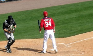 Bryce Harper leads a young core of players who have brought playoff baseball back to Washington, D.C. Photo R. Anderson