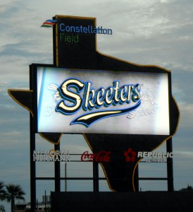 The Sugar Land Skeeters may be the road less traveled in the Houston area baseball scene but word is quickly spreading as the success grows. Photo R. Anderson