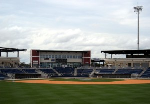 In 2012 the Pensacola Blue Wahoos were born when the team formerly known as the Carolina Mudcats made the westward journey from North Carolina to the sugar sand shores of Florida.  Photo R. Anderson