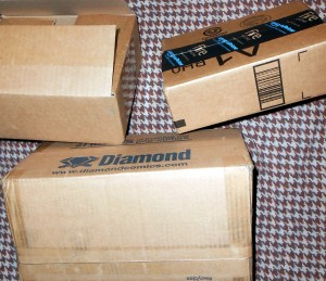 One side effect of buying all of one's Christmas gifts online is that a lot of boxes are generated. Photo R. Anderson