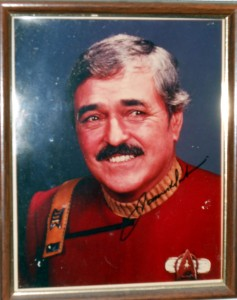 Actor James Doohan is best known for playing Montgomery Scott, aka Scotty, on <em>Star Trek</em>. Among his duties was beaming up away teams from alien planets. A transporter sure would make shopping online faster.<br /> Photo R. Anderson