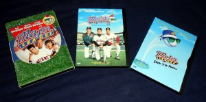 Baseball Monday has a triple play of Major League starring Charlie Sheen. Photo R. Anderson