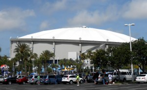 "The Orioles will fly south this weekend for a ""home"" series at Tropicana Field against the Tampa Bay Rays after the Rays voiced concerns about visiting Baltimore for the scheduled series between division rivals. Photo R. Anderson"